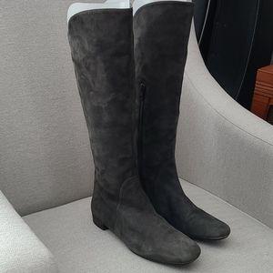 Stuart Weitzman Tall Grey Boots - Size 7
